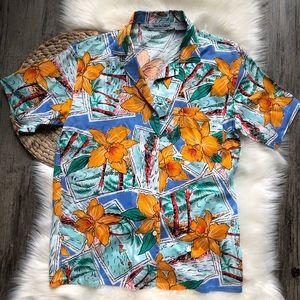 Diane Von Furstenberg • vintage Hawaiian shirt